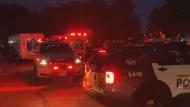 Police are investigating a stabbing at Ashbridges Bay Park.