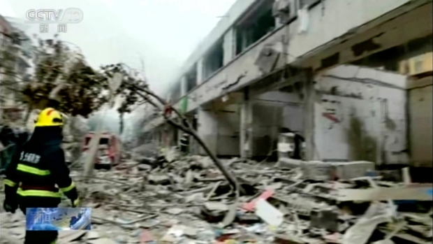 China gas explosion