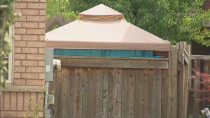 Police say a 6-year-old girl drowned in a backyard pool at a home in Oshawa during a party on June 12, 2021.