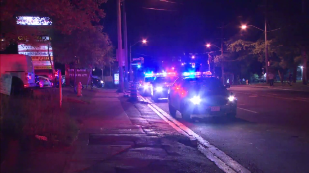 Two people were killed in a shooting in Scarborough.