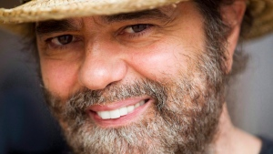 Daniel Lanois is pictured during an interview with The Canadian Press in Toronto on Sept. 21, 2010. THE CANADIAN PRESS/Frank Gunn