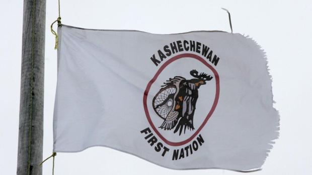 Kashechewan First Nation flag