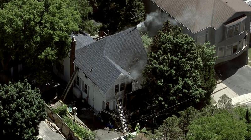 Vaughan house fire