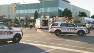 York Regional Police are investigating a crash involving at least three vehicles in Vaughan.