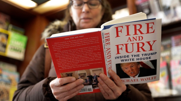 Fire and Fury new book