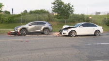 Toronto collision
