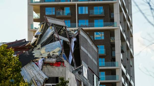 school, collapse, Belgium,