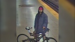 Toronto police have released the image of a suspect believed to be responsible for two separate assaults on the TTC last week. (Handout)
