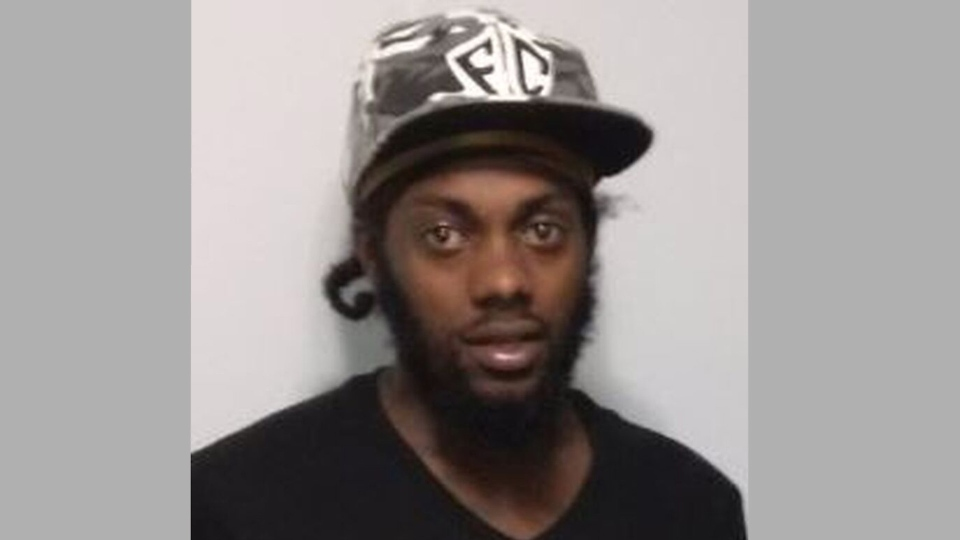 Diquan Olive-Service is pictured in this photo released by Toronto police.