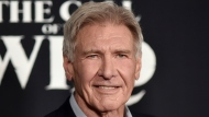 """Harrison Ford attends the premiere of """"The Call of the Wild"""" in Los Angeles on Feb. 13, 2020. Ford is taking a hiatus from filming """"Indiana Jones 5"""" after sustaining an injury on set. The 78-year-old was hurt rehearsing a fight scene, a spokesperson for the Walt Disney Co. said Wednesday. (Photo by Richard Shotwell/Invision/AP, File)"""
