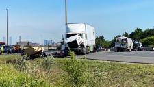 Highway 400, OPP, fatal, crash,