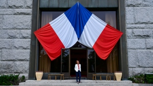 Ambassador of France to Canada, Kareen Rispal, is photographed at the Embassy of France in Ottawa on Tuesday, July 13, 2021. The embassy will celebrate Bastille Day which is the National Day of France on July 14th. THE CANADIAN PRESS/Sean Kilpatrick