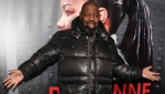 """FILE - Biz Markie attends the premiere of Netflix's """"Roxanne Roxanne"""" at SVA Theatre on March 19, 2018, in New York. The hip-hop staple known for his beatboxing prowess, turntable mastery and the 1989 classic """"Just a Friend,"""" has died. He was 57. Markie's representative, Jenni Izumi, said in a statement that the rapper-DJ died peacefully Friday, July 16, 2021, with his wife by his side. No cause of death was released. (Photo by Andy Kropa/Invision/AP, File)"""