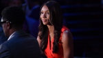 Maria Taylor, one of the top NBA analysts on ESPN, is parting ways with the sports network. (Jesse D. Garrabrant/NBAE/Getty Images)