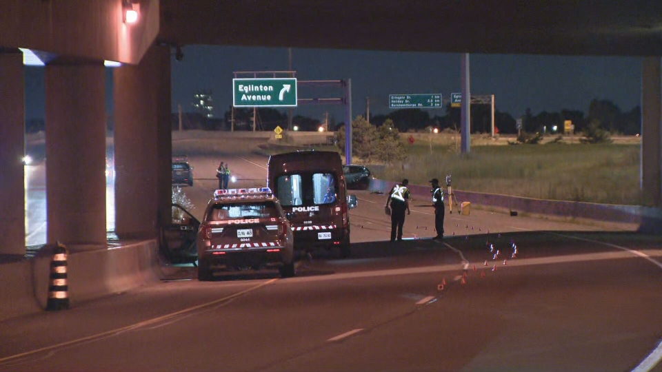 Toronto police are investigating a fatal collision in the area of Highway 27 and Eglinton Avenue West.