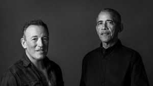 Obama and Springsteen