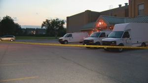 Police are investigating after shots were fired in front of a Scarborough school.