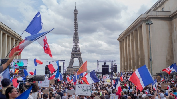 France protesters