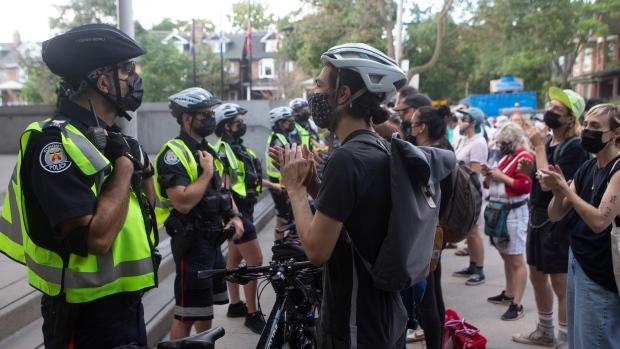 Toronto encampment protest