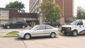 Toronto police are investigating after two people were found dead in an East York apartment on Tuesday.