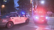 A man was taken to hospital in critical condition after an incident in Regent Park this morning.