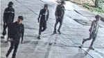 Police are looking for five suspects accused of stabbing and robbing a 15-year-old boy in downtown Toronto on July 6, 2021. (Toronto Police Service)