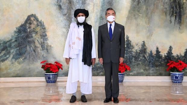 Wang Yi, Mullah Abdul Ghani Baradar