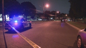 Toronto police are investigating a shooting in Lawrence Heights on July 28, 2021.