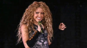 This Aug. 10, 2018 file photo shows Shakira performing in concert at Madison Square Garden in New York. (Photo by Greg Allen/Invision/AP, File)