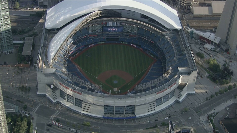 The Rogers Centre is seen in this undated photo. (Chopper 24)