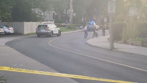 Police are investigating after shots fired in the east end.