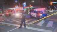 Police are investigating a hit-and-run in downtown Toronto that left a man in serious condition.
