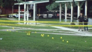 A 12-year-old was injured in a shooting in North York overnight.