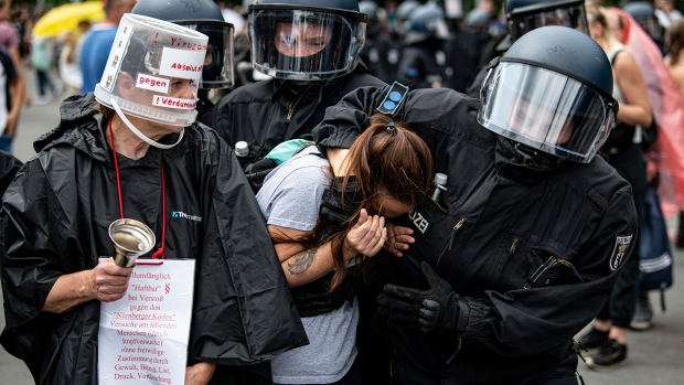 lockdown protest Berlin