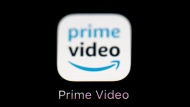 FILE - This March 19, 2018 file photo shows Amazon's Prime Video streaming app on an iPad in Baltimore. (AP Photo/Patrick Semansky, File)