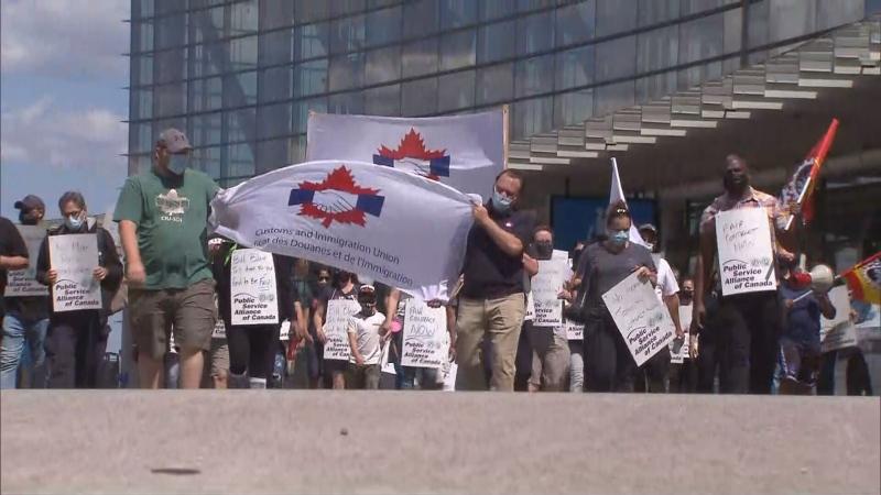 Pearson protest