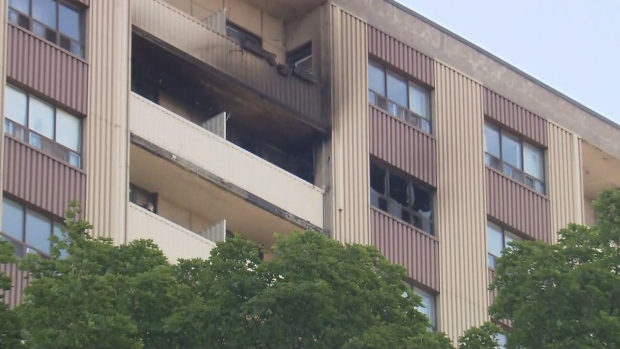 Officials are investigating a fatal fire in Parkdale.
