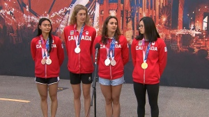 Canadian swimmers