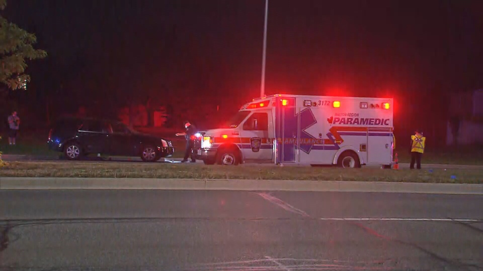 Police are investigating after a pedestrian was fatally struck by a vehicle in Oakville.