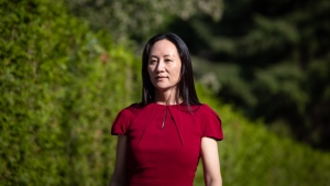 Meng Wanzhou, chief financial officer of Huawei, leaves home to attend her extradition hearing at B.C. Supreme Court, in Vancouver, on Tuesday, August 10, 2021. THE CANADIAN PRESS/Darryl Dyck