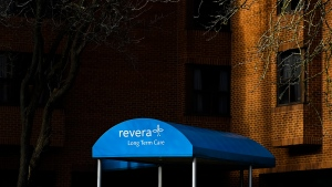 The Revera Westside Long Term Care Home is pictured in Toronto on Monday, Dec. 7, 2020. Revera Inc. has released a report that's critical of the public health system's handling of the COVID-19 pandemic, even as the for-profit long-term care operator faces criticism for its part in recent outbreaks. THE CANADIAN PRESS/Nathan Denette