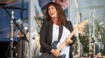 Alanis Morissette, Boys II Men and Blink-182 are among the hitmakers set to perform at Ottawa's RBC Bluesfest. Morissette performs at the New Orleans Jazz and Heritage Festival on Thursday, April 25, 2019, in New Orleans. THE CANADIAN PRESS/Amy Harris/Invision/AP