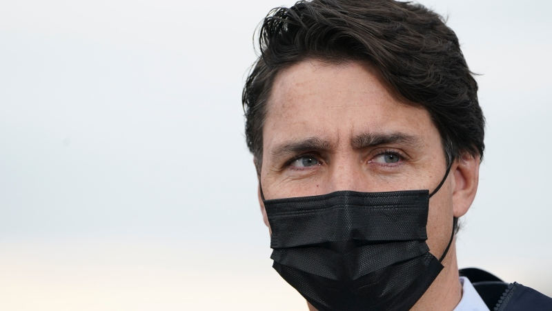 Liberal leader Justin Trudeau makes a campaign stop in Steveston Harbour, Richmond, B.C., on Tuesday, Sept. 14, 2021. THE CANADIAN PRESS/Sean Kilpatrick