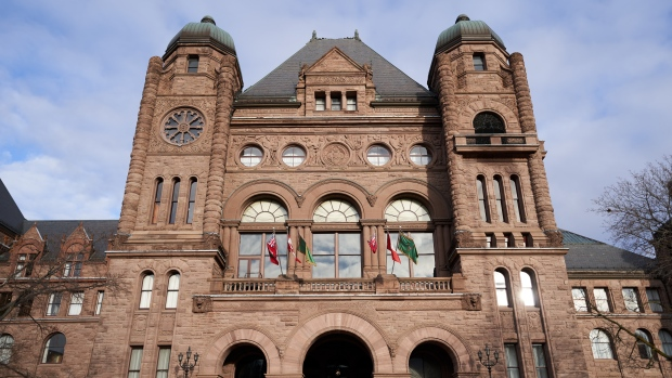 The Ontario legislature is pictured at Queen's Park in downtown Toronto in this undated photo. (CTV News/Craig Wadman)