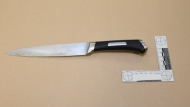 A knife collected from the scene of a fatal police shooting on May 22, 2021 is shown. (SIU)