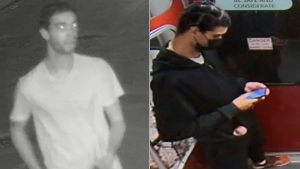Police are looking for a suspect who allegedly stabbed a woman multiple times at Dundas West Station. (Toronto Police Service)