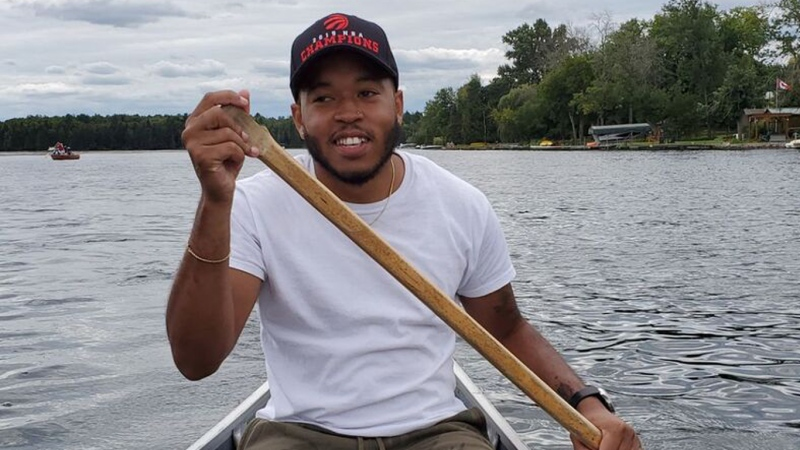 Thane Murray, 27, is seen in this undated photo. Murray was killed in a shooting in Regent Park on Saturday, Sept. 18, 2021. (TORONTO POLICE SERVICE)