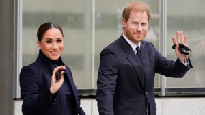 Harry and Meghan tour New York