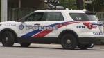 Toronto police are investigating a collision in Etobicoke.
