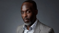 """FILE - Actor Michael K. Williams poses for a portrait at the Beverly Hilton during the 2016 Television Critics Association Summer Press Tour, Saturday, July 30, 2016, in Beverly Hills, Calif. Williams, 54, died of acute drug intoxication, New York City's medical examiner said Friday, Sept. 24, 2021. Williams, known for playing Omar Little on """"The Wire,"""" had fentanyl, parafluorofentanyl, heroin and cocaine in his system when he died Sept. 6 in Brooklyn. (AP Photo/Chris Pizzello, File)"""